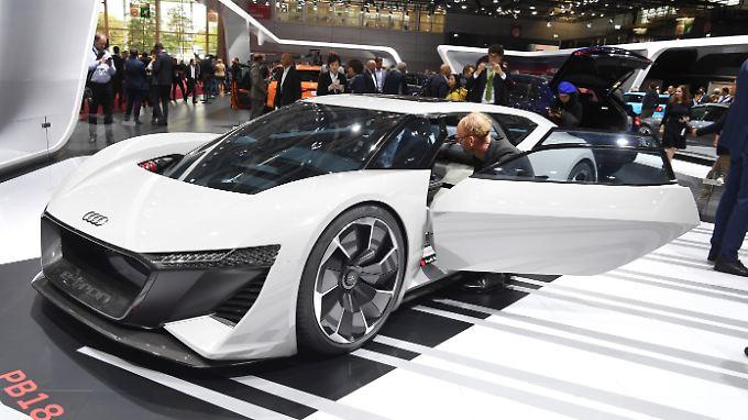 Audis Studie PB18 fährt elektrisch.