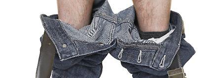 Manchmal muss man einfach die Hosen runterlassen, auch im tatsächlichen Sinn.