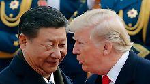 Handelskonflikt vor dem Ende?: Trump lässt Deal mit China erarbeiten