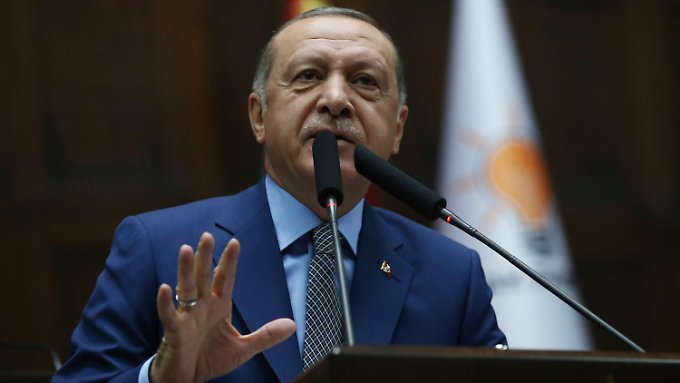 He believes that Khashoggi's death was ordered from above: Recep Tayyip Erdogan.