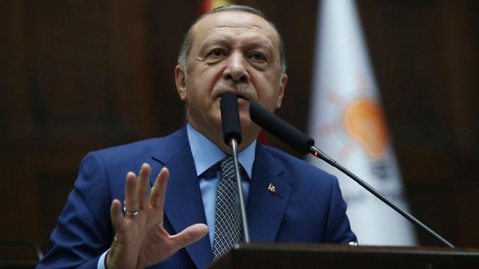 He believes that Khashoggi's death was ordered from above: Recep Tayyip Erdogan.