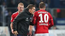 Mit Stürmer Lasogga und einer Portion Aggressivität geht Hannes Wolfs ins Zweitliga-Spitzenspiel.