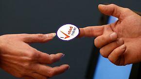 Hohe Wahlbeteiligung, technische Probleme: Midterm-Taxis bringen US-Bürger zu den Urnen