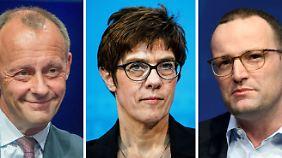 Merz muss Razzia erklären: In der CDU beginnt das Schaulaufen für Merkel-Nachfolge