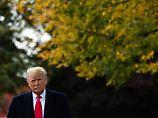 Drohende Wahlkatastrophe 2020: US-Bürger stellen Trump unter Aufsicht