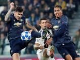 City-Schützenfest mit Witzelfer: Man United schockt Juve, Real zeigt Torgala