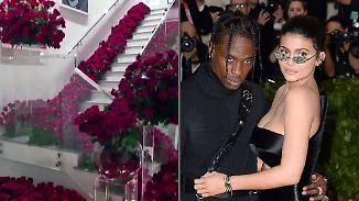 Promi-News des Tages: Verbirgt sich in diesem Rosenmeer ein Heiratsantrag?