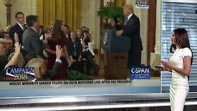 n-tv Netzreporterin: Erbitterter Deutungs-Kampf um #Acosta lodert online