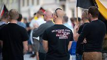 Zahl verdoppelt: Mehr Neonazis bei Demonstrationen