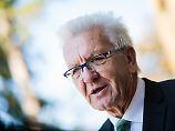 "Straffällige Flüchtlinge: Kretschmann will ""Männerhorden"" trennen"