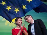 Keller und Giegold gewählt: Grüne küren Spitzenkandidaten für Europa