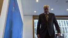 Kompletter Amtsverzicht?: Seehofer denkt an Schlussstrich-Lösung