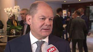 """Bundesfinanzminister Scholz zu Italien: """"Wer so hoch verschuldet ist, muss vorsichtig agieren"""""""