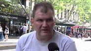 Terrorist mit Einkaufswagen gestoppt: Obdachloser Melbourne-Held wird für Rettungstat belohnt