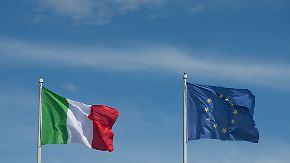 Haushaltsstreit mit der EU: Italien rückt nicht von Schuldenplänen ab