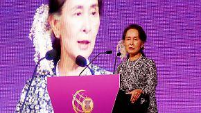 """Suu Kyi """"hat ihre Werte verraten"""": Amnesty entzieht Nobelpreisträgerin Ehrentitel"""