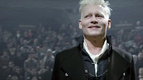 """Rowlings Harry-Potter-Vorgeschichte: Johnny Depp begeht """"Grindelwalds Verbrechen"""" im Kino"""