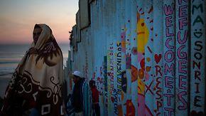 Dem Traum so nah: Flüchtlinge an US-Grenze haben Angst und hoffen