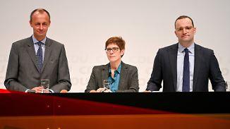 AKK, Merz und Spahn: Der Kandidatencheck