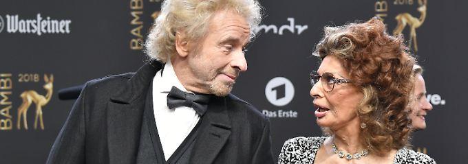 Bambi-Verleihung 2018: Gottschalk kommt zum Date mit Sophia Loren