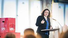 Debatte um Sozialstaatsreform: Nahles umreißt Ablösung von Hartz IV