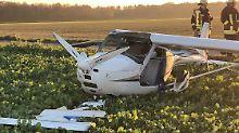 Tödliches Unglück in NRW: Pilot stirbt bei Flugzeug-Kollision