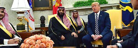 Benennung von Khashoggi-Mördern: Trump verspricht Bericht bis Dienstag