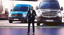 Kooperation bei E-Lieferwagen?: Musk interessiert sich für Mercedes-Sprinter