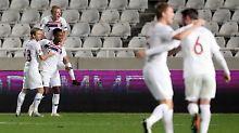 Norwegen gewinnt gegen Zypern und spielt damit demnächst in der B-Liga.