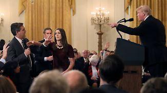 Nach Streit mit CNN: Weißes Haus führt neue Regeln für Journalisten ein