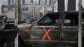 Tödliches Feuer in Kalifornien: Vorher-nachher-Bilder aus Paradise