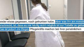 """Brandbrief an Spahn: Pflegekraft: """"Gesundheitssystem stürzt ein wie Kartenhaus"""""""