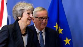 """""""Sehr gute"""" Fortschritte und offene Fragen: Brexit-Deal noch nicht in trockenen Tüchern"""
