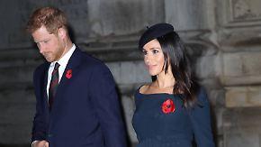 Promi-News des Tages: Harry und Meghan kehren London den Rücken
