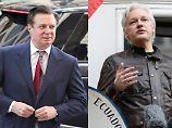 Geheime Absprachen getroffen?: Manafort soll mit Assange kooperiert haben