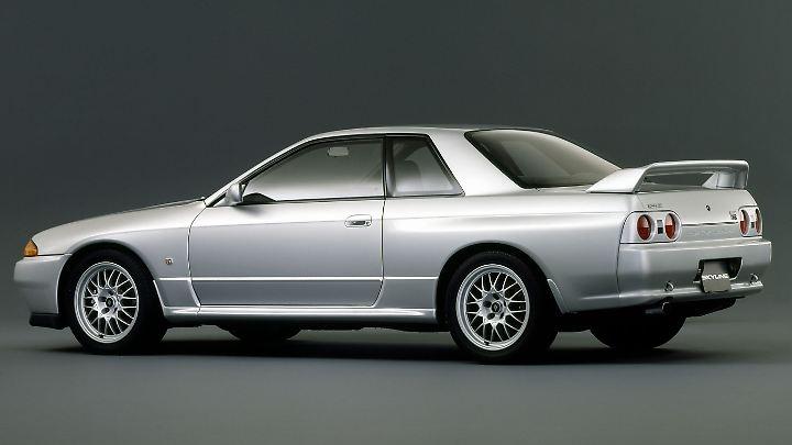 Nissan Skyline GT-R Typ R32 ab 1989.