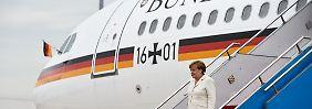 Zwischenstopp auf G20-Reise: Defekt zwingt Merkel-Flieger zum Umdrehen
