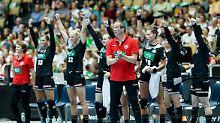 EM-Start mit neuem Erfolgscoach: DHB-Frauen wollen dank Cruyff zum Titel