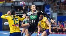 Pleite nach Auftakt-Sensation: Handballerinnen zurück auf dem Boden