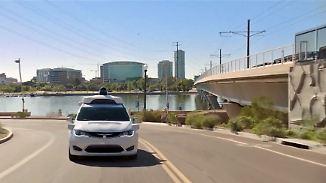 Google-Schwester startet Service: Erste Robo-Taxis chauffieren Kunden