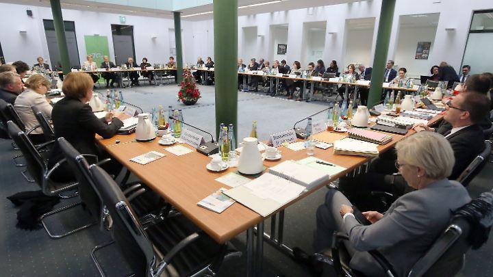 """Beim Treffen der Kultusminister sind sich alle einig: """"Zügig"""" soll die Digitalisierung voranschreiten."""