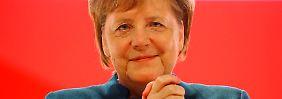 """Letzte Rede als Parteichefin: Merkel wünscht CDU """"Fröhlichkeit im Herzen"""""""