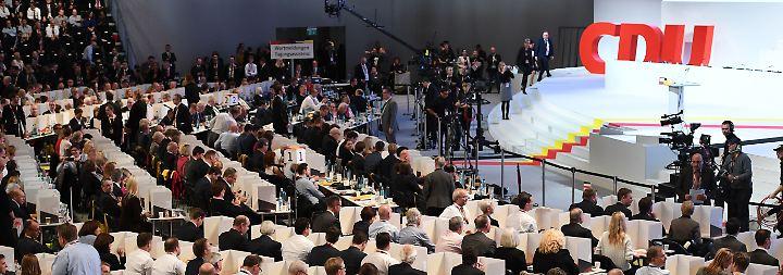 Historisch, emotional, spannend: So verlief der CDU-Parteitag der Superlative