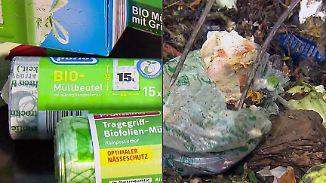 """Praktisch nie """"vollständig kompostierbar"""": Tüten aus """"Öko-Plastik"""" dürfen nicht in Bio-Müll"""