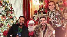 Ho, ho, Heidi!: Klums Brust-Blitzer beim Weihnachtsmann