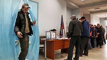 Völkerrechtswidrige Wahlen: EU bestraft Ostukraine mit neuen Sanktionen