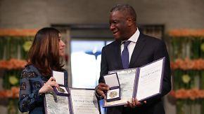 Vorkämpfer gegen sexuelle Gewalt: Murad und Mukwege nehmen Friedensnobelpreis entgegen