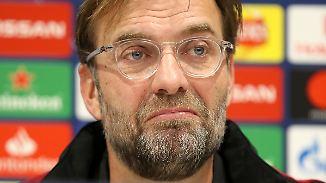 """6. Spieltag der Champions League: Klopp: """"Haben noch die Möglichkeit weiterzukommen"""""""