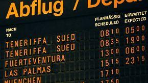 Nach dem Fluglotsen-Streik: Immer noch massive Behinderungen