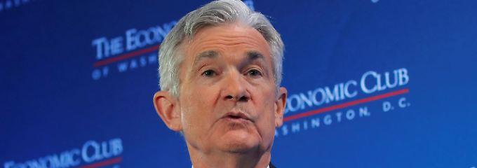 Beobachten und reagieren: Powell betont Flexibilität der Fed